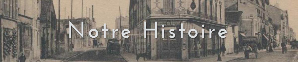 Notre Histoire - Brasserie Le Flore Puteaux - Image ancienne du Flore